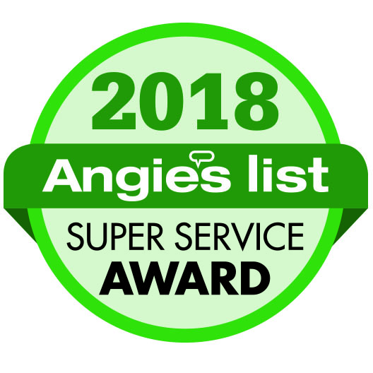 Angie's List 2018 Super Service Award Winner