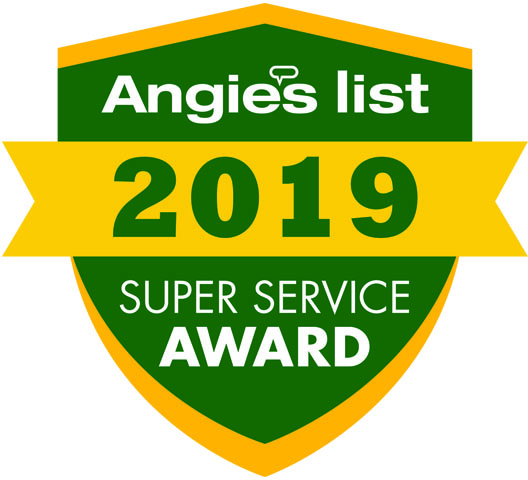 Angie's List 2019 Super Service Award Winner